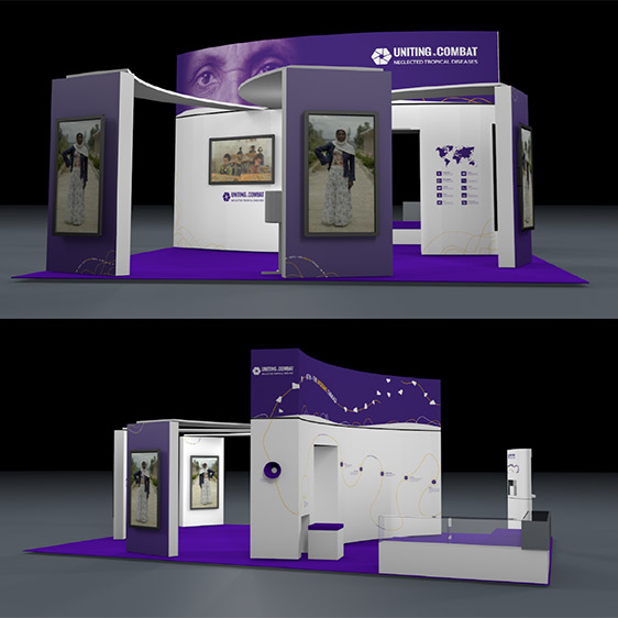 Women Deliver Conference Stand Map